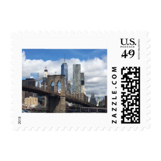 Brooklyn Bridge NYC Scene Postage