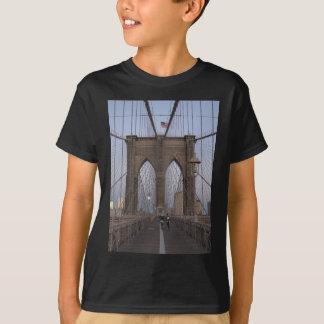 Brooklyn Bridge NYC Sun-rise on Christmas Eve T-Shirt