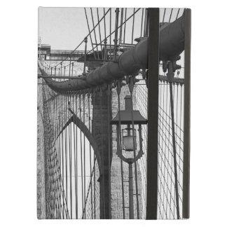 Brooklyn bridge, NYC with lantern iPad Air Covers