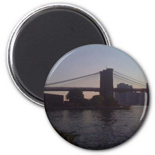 Brooklyn Bridge One Magnet