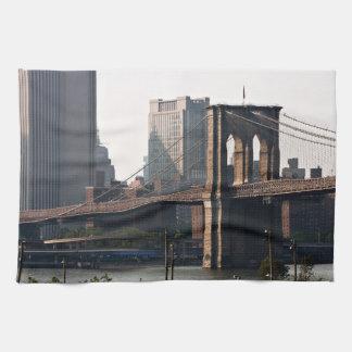 Brooklyn Bridge Panorama Kitchen Towel
