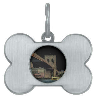 Brooklyn Bridge Pet Name Tag