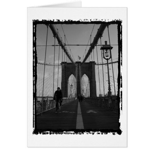 Brooklyn Bridge Photo Card