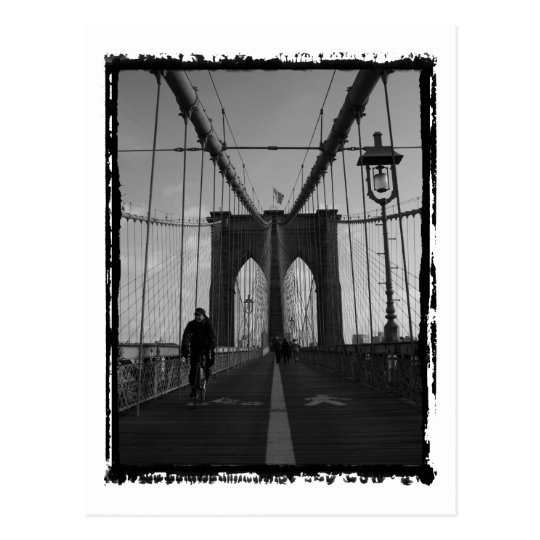 Brooklyn Bridge Photo Postcard