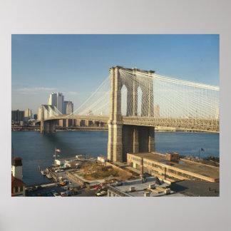 Brooklyn Bridge Photograph Poster