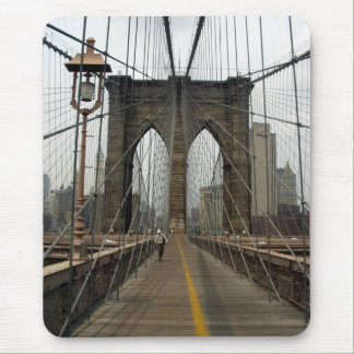 Brooklyn Bridge Photography Mouse Pad