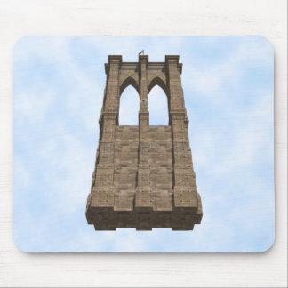 Brooklyn Bridge Pillar: 3D Model: Mousepad