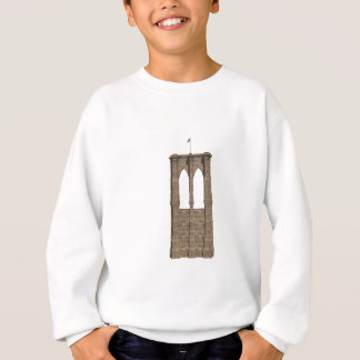 Brooklyn Bridge Pillar: 3D Model: Sweatshirt