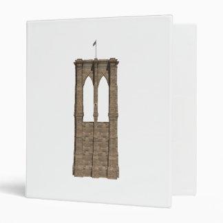 Brooklyn Bridge Pillar: Custom Binder