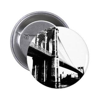 Brooklyn Bridge Pinback Button