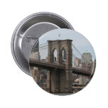 Brooklyn Bridge Pinback Buttons