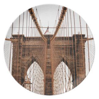 Brooklyn Bridge Plates