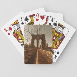 Brooklyn Bridge. Playing Cards