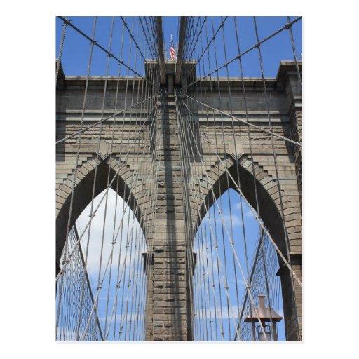 Brooklyn Bridge Post Card