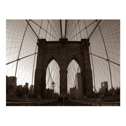 Brooklyn Bridge Post Card
