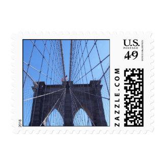 Brooklyn Bridge Postage Stamp