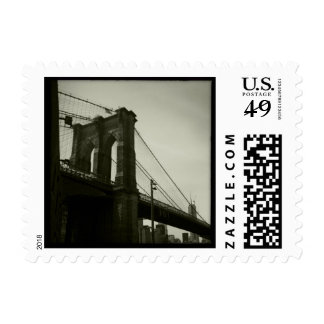 Brooklyn Bridge Postage Stamp