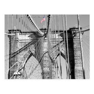 Brooklyn Bridge Postcard