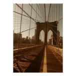 Brooklyn Bridge. Poster