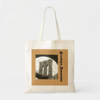 Brooklyn Bridge/ Quote Tote Bag
