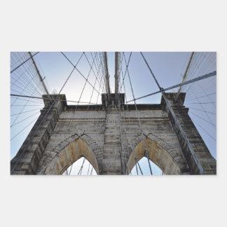 Brooklyn Bridge Rectangular Sticker