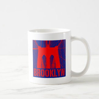 Brooklyn Bridge silhouette Coffee Mug