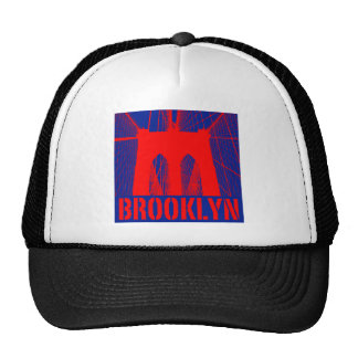 Brooklyn Bridge silhouette Trucker Hat