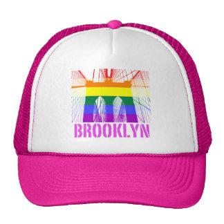 Brooklyn Bridge silhouette pride Trucker Hat