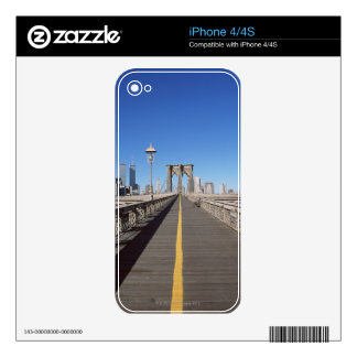 Brooklyn Bridge Skin For iPhone 4