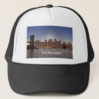Brooklyn Bridge Skyline New York Big Apple Trucker Hat