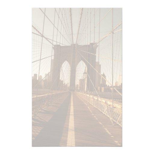Brooklyn Bridge. Stationery