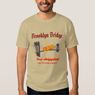 Brooklyn Bridge T Shirt