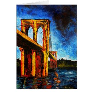 Brooklyn Bridge to Utopia 2009 Card