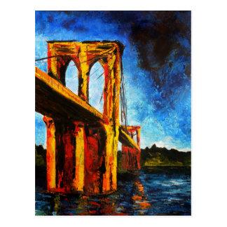 Brooklyn Bridge to Utopia 2009 Postcard
