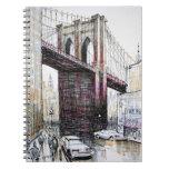 Brooklyn Bridge, USA Notebook