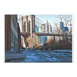 Brooklyn Bridge- Winter Photo