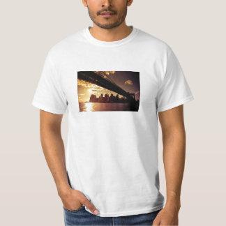 Brooklyn Bridge With New York City Skyscrapers T-Shirt
