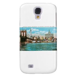 Brooklyn Bridge, Woolworth and Municipal... Galaxy S4 Case