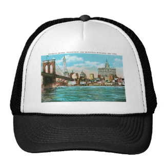 Brooklyn Bridge, Woolworth and Municipal... Trucker Hat