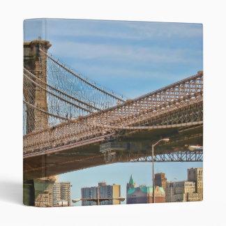 "Brooklyn Bridge Wraparound Image 1"" Photo Album 3 Ring Binder"