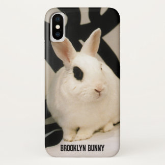 Brooklyn Bunny iPhone X Barely There Case