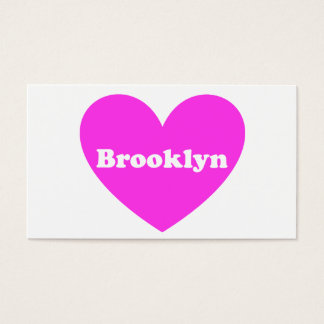 Brooklyn Business Card