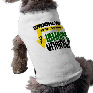 Brooklyn By Way of Jamaica With Arrows Dog Tee