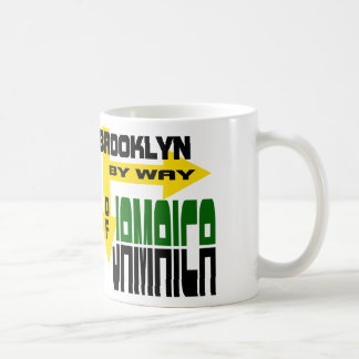 Brooklyn By Way of Jamaica With Arrows Mugs