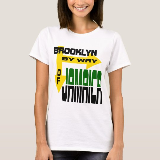 Brooklyn By Way of Jamaica With Arrows T-Shirt