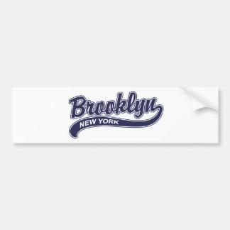 Brooklyn Pegatina Para Auto