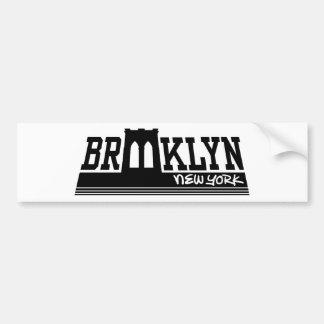 Brooklyn Pegatina De Parachoque