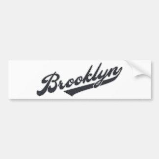 *Brooklyn Pegatina Para Auto