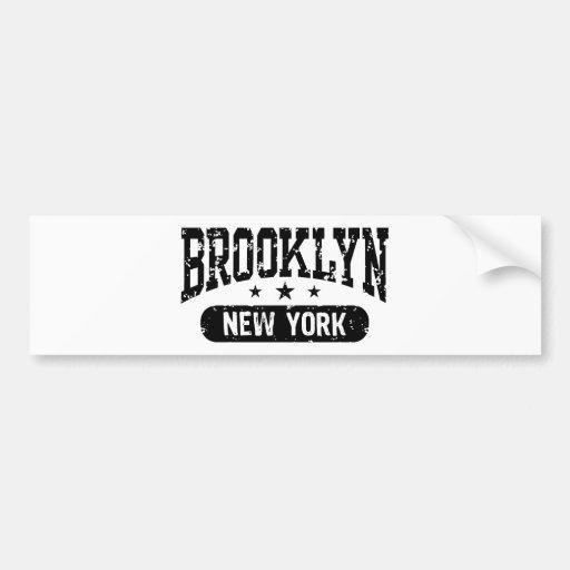 Brooklyn Car Bumper Sticker