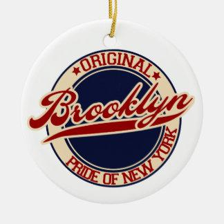 Brooklyn Ceramic Ornament